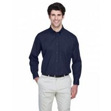 8975T Men's Tall Whisper Twill - UltraClub Mens Woven Shirts