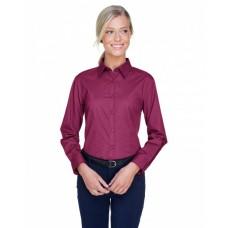 8976 Ladies' Whisper Twill - UltraClub Women Woven Shirts