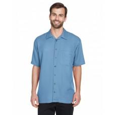 8980 Men's Cabana Breeze Camp Shirt - UltraClub Mens Woven Shirts