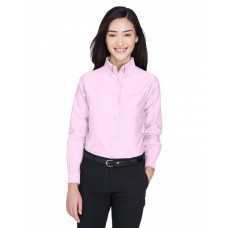 8990 Ladies' Classic Wrinkle-Resistant Long-Sleeve Oxford - UltraClub Women Woven Shirts