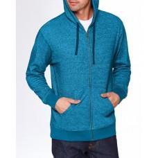 9600 Adult Denim Fleece Full-Zip Hoodie - Next Level Hooded Sweatshirts