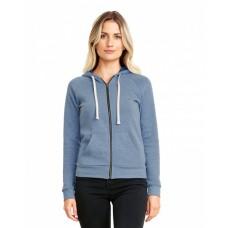9603 Ladies' PCH Raglan Zip Hoodie - Next Level Hooded Sweatshirts