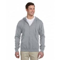 993 Adult NuBlend® Fleece Full-Zip Hooded Sweatshirt - Jerzees Hooded Sweatshirts