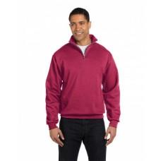 995M Adult NuBlend® Quarter-Zip Cadet Collar Sweatshirt - Jerzees Sweatshirts
