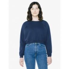 Ladies' Flex Fleece Raglan Cropped Sweatshirt