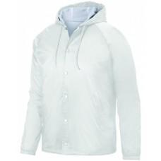 AG3102 Unisex Hooded Coach's Jacket - Augusta Drop Ship Jackets