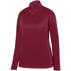 AG5509 Ladies' Wicking Fleece Quarter-Zip Pullover - Augusta Drop Ship Pullover Sweatshirts
