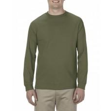 AL1904 Adult 5.1 oz., 100% Soft Spun Cotton Long-Sleeve T-Shirt - Alstyle Cotton T Shirts