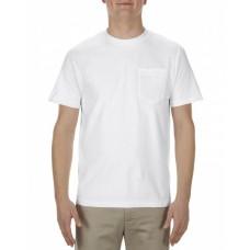 AL1905 Adult 5.1 oz., 100% Soft Spun Cotton Pocket T-Shirt - Alstyle T Shirts