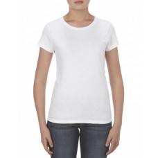 AL2562 Missy 4.3 oz., Ringspun Cotton T-Shirt - Alstyle T Shirts