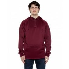 ALR107 Unisex 9 oz. Polyester Air Layer Tech Quarter-Zip Hooded Sweatshirt - Beimar Drop Ship Hooded Sweatshirts
