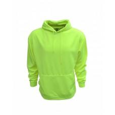 B309 Adult Performance Pullover Hood with Bonded Polar Fleece - Bright Shield Hooded Sweatshirts