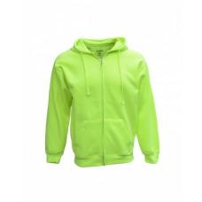 B501 Adult Full-Zip Fleece Hood - Bright Shield Hooded Sweatshirts