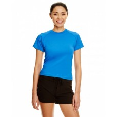 B5150 Ladies Rash Guard T-Shirt - Burnside Womens T Shirts