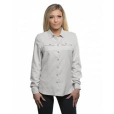 B5200 Ladies' Solid Flannel Shirt - Burnside Women Woven Shirts