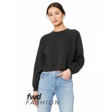 B7505 FWD Fashion Ladies' Raglan Pullover Fleece - Bella + Canvas Pullover Sweatshirts