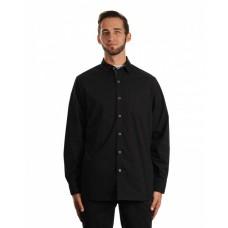 B8290 Men's Peached Poplin Woven Shirt - Burnside Mens Woven Shirts