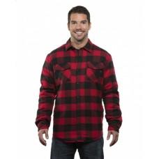B8610 Adult Quilted Flannel Jacket - Burnside Jackets