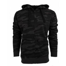 B8615 Men's  French Terry Full-Zip Hooded Sweatshirt - Burnside Hooded Sweatshirts