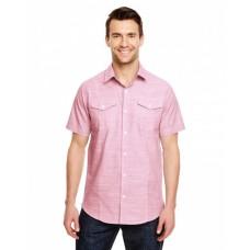 B9247 Men's Textured Woven Shirt - Burnside Mens Woven Shirts