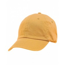 BA3630 100% Washed Chino Cotton Twill Unstructured Cap - Bayside Caps