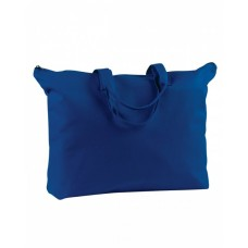 BAGedge BE009 Totes - 12 oz. Canvas Zippered Book Tote