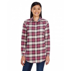 BP7030 Ladies' Yarn-Dyed Flannel Shirt - Backpacker Women Woven Shirts