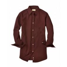 BP7035 Ladies' Nailshead Long-Sleeve Woven Shirt - Backpacker Women Woven Shirts