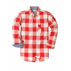 BP7040T Men's Tall Yarn-Dyed Long-Sleeve Brushed Flannel - Backpacker Mens Woven Shirts
