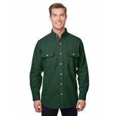 BP7090 Men'sSolid Chamois Shirt - Backpacker Mens Woven Shirts