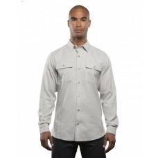 BU8200 Men's Solid Flannel Shirt - Burnside Mens Woven Shirts