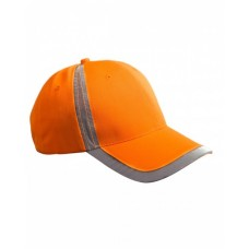 Big Accessories BX023 Caps - Reflective Accent Safety Cap