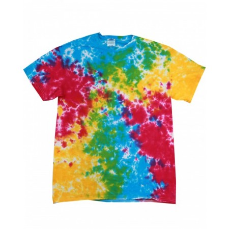 CD100 Adult 5.4 oz., 100% Cotton T-Shirt - Tie-Dye Cotton T Shirts
