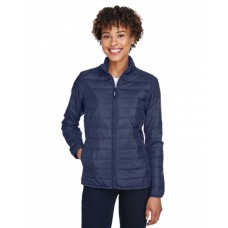 CE700W Ladies' Prevail Packable Puffer Jacket - Core 365 Womens Jackets