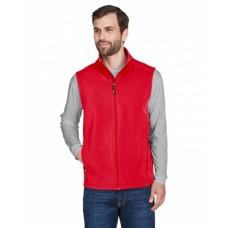 CE701 Men's Cruise Two-Layer Fleece Bonded Soft Shell Vest - Core 365 Mens Vests