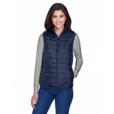 CE702W Ladies' Prevail Packable Puffer Vest - Core 365 Womens Vests