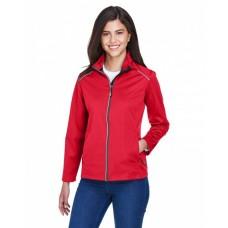 CE708W Ladies' Techno Lite Three-Layer Knit Tech-Shell - Core 365 Womens Shell Jackets
