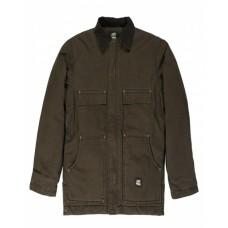 CH377T Men's Tall Highland Washed Chore Coat - Berne Mens Coats