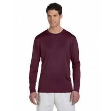 Adult 4.1 oz. Double Dry® Long-Sleeve Interlock T-Shirt
