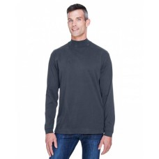 D420 Adult Sueded Cotton Jersey Mock Turtleneck - Devon & Jones Sweatshirts