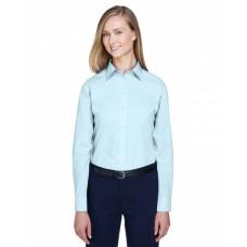 D620W Ladies' Crown Woven Collection™ Solid Broadcloth - Devon & Jones Women Woven Shirts