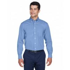 D630 Men's Crown Woven Collection™ Solid Oxford - Devon & Jones Mens Woven Shirts
