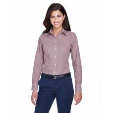 D640W Ladies' Crown Woven Collection™ Gingham Check - Devon & Jones Women Woven Shirts