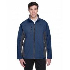 D997 Men's Soft Shell Colorblock Jacket - Devon & Jones Mens Jackets