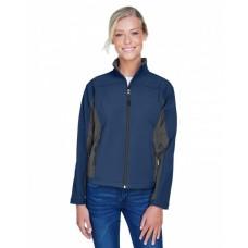 D997W Ladies' Soft Shell Colorblock Jacket - Devon & Jones Womens Jackets