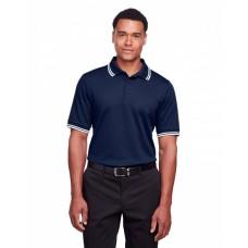 DG20C Men's CrownLux Performance™ Plaited Tipped Polo - Devon & Jones Mens Polo Shirts