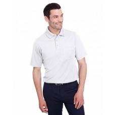 DG20P Men's CrownLux Performance™ Plaited Polo with Pocket - Devon & Jones Mens Polo Shirts
