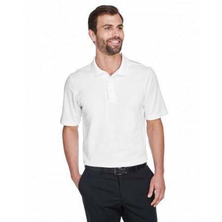 DG20T CrownLux Performance™ Men's Tall Plaited Polo - Devon & Jones Mens Polo Shirts