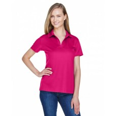 DG20W CrownLux Performance™ Ladies' Plaited Polo - Devon & Jones Women Polo Shirts
