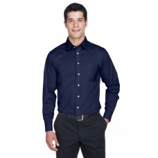 DG530T Men's Tall Crown Woven Collection™ Solid Stretch Twill - Devon & Jones Mens Woven Shirts